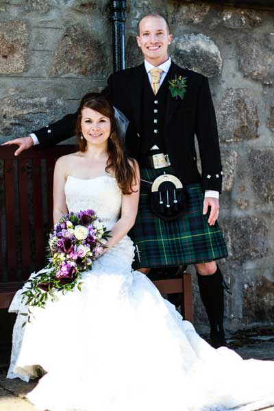 Mokoko Aberdeen Hairdressers Wedding Photo 6