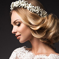 Mokoko Aberdeen Wedding Hair Photo